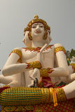 Il più grande Brahma al tempio di Wat Mai Kham Wan, Phichit, Tailandia Fotografia Stock Libera da Diritti
