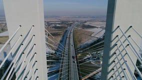 Il più grande ponte nel mondo, aereo Immagini Stock Libere da Diritti