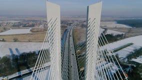 Il più grande ponte nel mondo, aereo Fotografie Stock