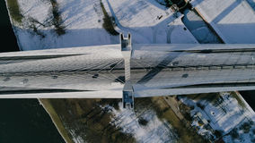 Il più grande ponte nel mondo, aereo Immagine Stock