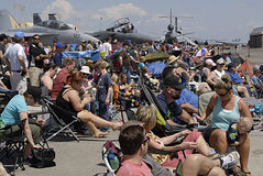 2014 il più skyfest Fotografie Stock