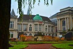 Il più vecchio casinò nel mondo, stazione termale, Belgio Immagini Stock