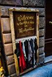 Il più vecchio negozio in Toscana fotografia stock libera da diritti
