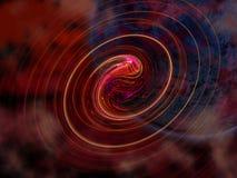 Il pianeta con rende Fotografie Stock