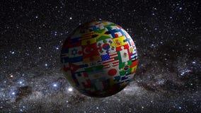 Mondo di puzzle Fotografie Stock Libere da Diritti