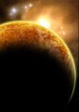 Il pianeta rosso Immagine Stock Libera da Diritti