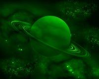 Il pianeta verde Fotografia Stock
