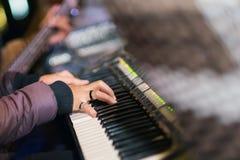 Il pianista Fotografia Stock Libera da Diritti