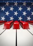 Il piano chiude a chiave U.S.A. Fotografia Stock