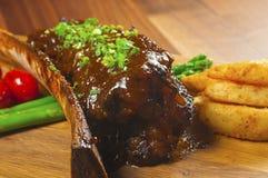Il piatto principale choice del cuoco unico Fotografia Stock Libera da Diritti