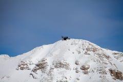 Il picco di Piz Boe delle alpi di Dolomiti Immagini Stock Libere da Diritti