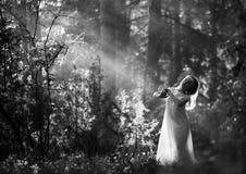Il piccolo angelo Fotografia Stock