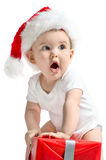 Il piccolo Babbo Natale Fotografie Stock Libere da Diritti