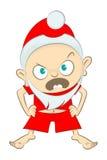 Il piccolo Babbo Natale illustrazione di stock