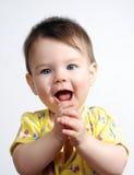 Il piccolo bambino Fotografia Stock
