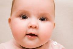 Il piccolo bambino, la ragazza fotografia stock libera da diritti