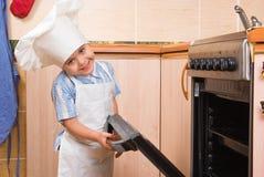 Il piccolo cuoco immagini stock