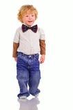 Il piccolo dandy Fotografie Stock