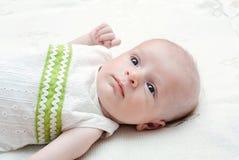 Il piccolo neonato Immagini Stock Libere da Diritti