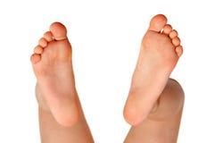 Il piede del bambino Fotografia Stock
