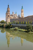 Il Pilar a Zaragoza Fotografie Stock