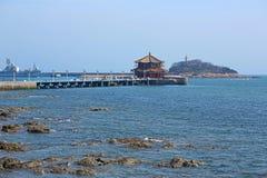 Il pilastro di Qingdao in Cina Immagini Stock Libere da Diritti