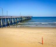 Il pilastro a Virginia Beach immagini stock libere da diritti