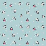 Il pinguino ha messo 01 Immagini Stock
