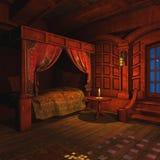 Il pirata Captains la cabina Immagini Stock Libere da Diritti