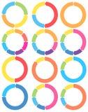 Il pittogramma della freccia rinfresca l'insieme del segno del ciclo di rotazione della ricarica Fotografie Stock