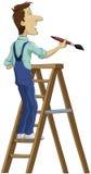Il pittore Fotografie Stock