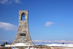 Il plateau di Utsukushigahara dell'inverno fotografia stock libera da diritti