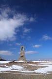 Il plateau di Utsukushigahara dell'inverno fotografie stock libere da diritti