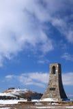 Il plateau di Utsukushigahara dell'inverno fotografia stock