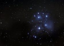 Il Pleiades Fotografie Stock