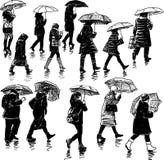 Il pleut Photographie stock libre de droits