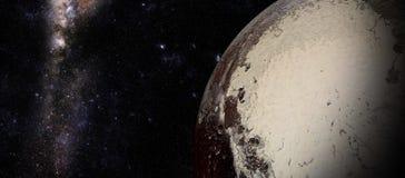 Il Plutone sparato da spazio Immagine Stock Libera da Diritti