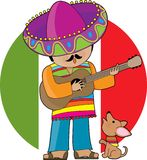Il poco Messico Fotografie Stock Libere da Diritti
