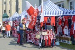 Il polacco smazza i supporti degli accessori Immagine Stock