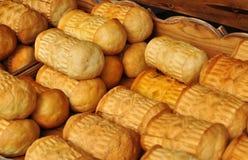 Il polacco tradizionale ha fumato il formaggio conosciuto come oscypek, Zakopane, Polonia Immagine Stock Libera da Diritti