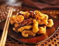 Il pollo cinese del TSO di generale Fotografie Stock