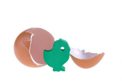 Il pollo del giocattolo Immagini Stock Libere da Diritti