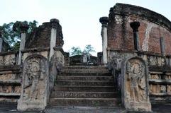 Il Polonnaruwa - capitale medievale dello Sri Lanka Immagine Stock Libera da Diritti