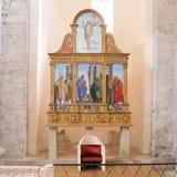 Il Polyptych di Aquileia fotografia stock