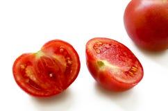 Il pomodoro del taglio Fotografia Stock