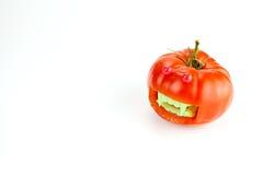 Il pomodoro del vampiro - serie di Halloween Immagini Stock Libere da Diritti