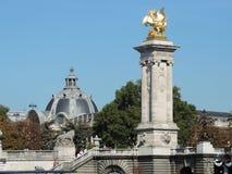 Il Pont Alexandre III Fotografia Stock Libera da Diritti