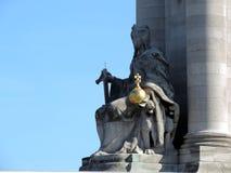 Il Pont Alexandre III Fotografia Stock