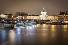 'Il Pont des Arts' Fotografie Stock Libere da Diritti