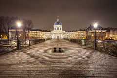'Il Pont des Arts' Fotografie Stock